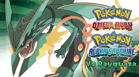 Pokemon Omega Ruby Alpha Sapphire - Battle! Rayquaza Music (HQ)