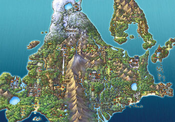 Sinnoh Region Map
