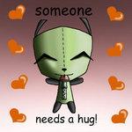 Gir hug by manicsfan