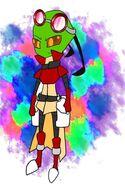 Irken Mario - Misty