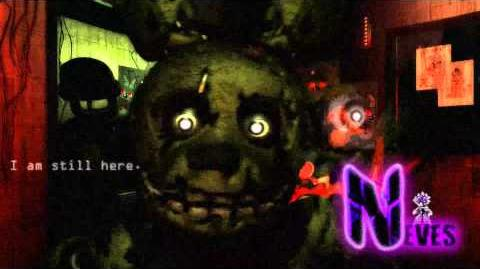 Five Nights at Freddy's 3 Remix - I am Still Here - Neves