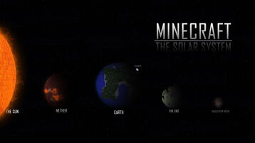 Minecraft-solar-system-HD-effect-planet