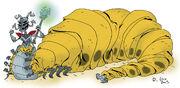 Queen Slug for a Butt by Hitlersbrain