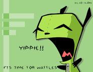 Gir Waffles by Grilla1