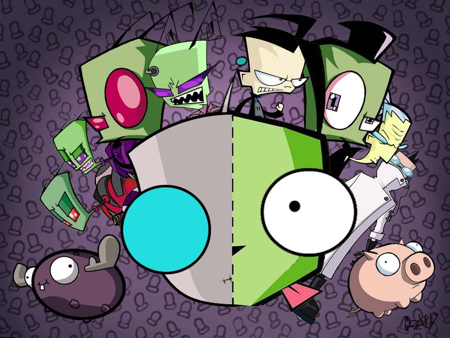 Wallpaper gir zim by cezxr17