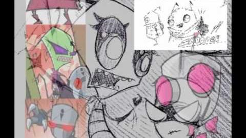 Invader Zim Lost Episode Top of the Line