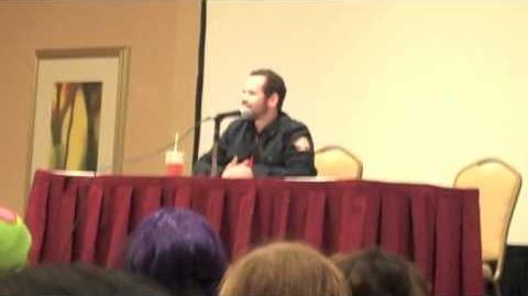 "InvaderCON - Andy Berman says ""I love you, Zim!"" ZADR-0"