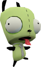 Modelo 3d de gir perro en globs of doom
