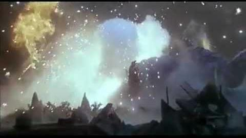 Godzilla and Mogera vs Spacegodzilla Final Battle Highlights