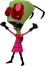 Modelo 3d de zim en globs of doom