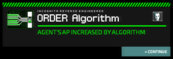 Algorithm Install Notice