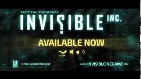 Invisible, Inc. Launch Trailer (PC Linux Mac)