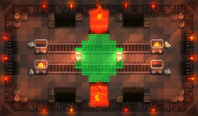 Craterus - Abandoned Mine - Zone