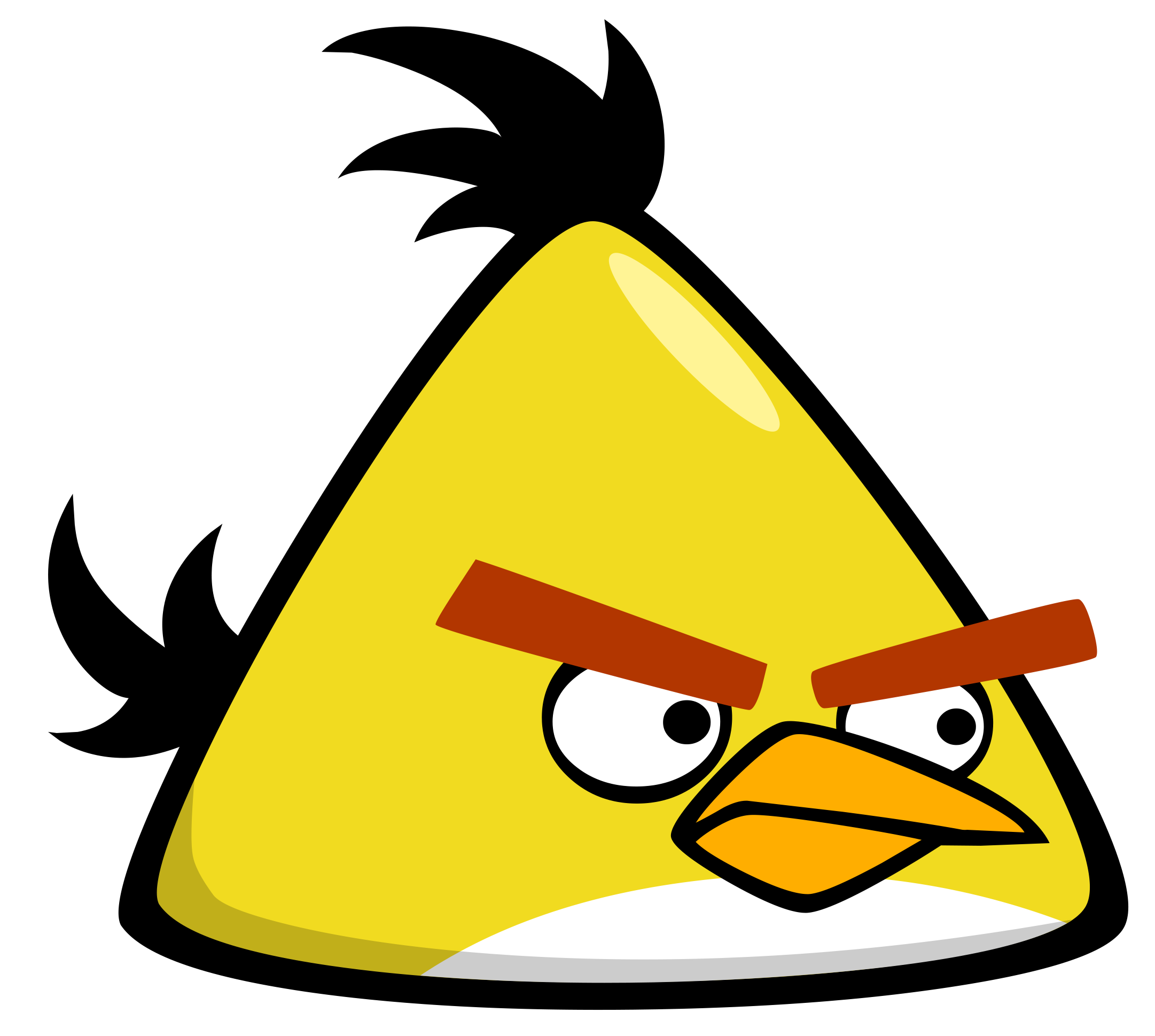 File:Angry bird yellow.png