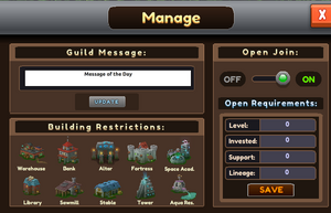 Guild Manage
