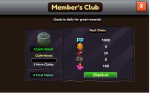 Membersclubreward