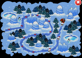 Taking Down Santa Event Map