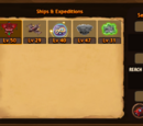 Ships and Expeditions Trophies