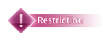 Step banner restrict