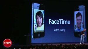 IPhone 4 video calling