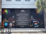 Apple King Street boarded 2020-06-10 mural