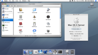 2005-7 Mac OS X 10.4.11 Server (Tiger) (Intel)