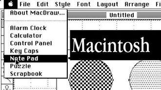 A Tour of Macintosh System 1.1 - Software Showcase