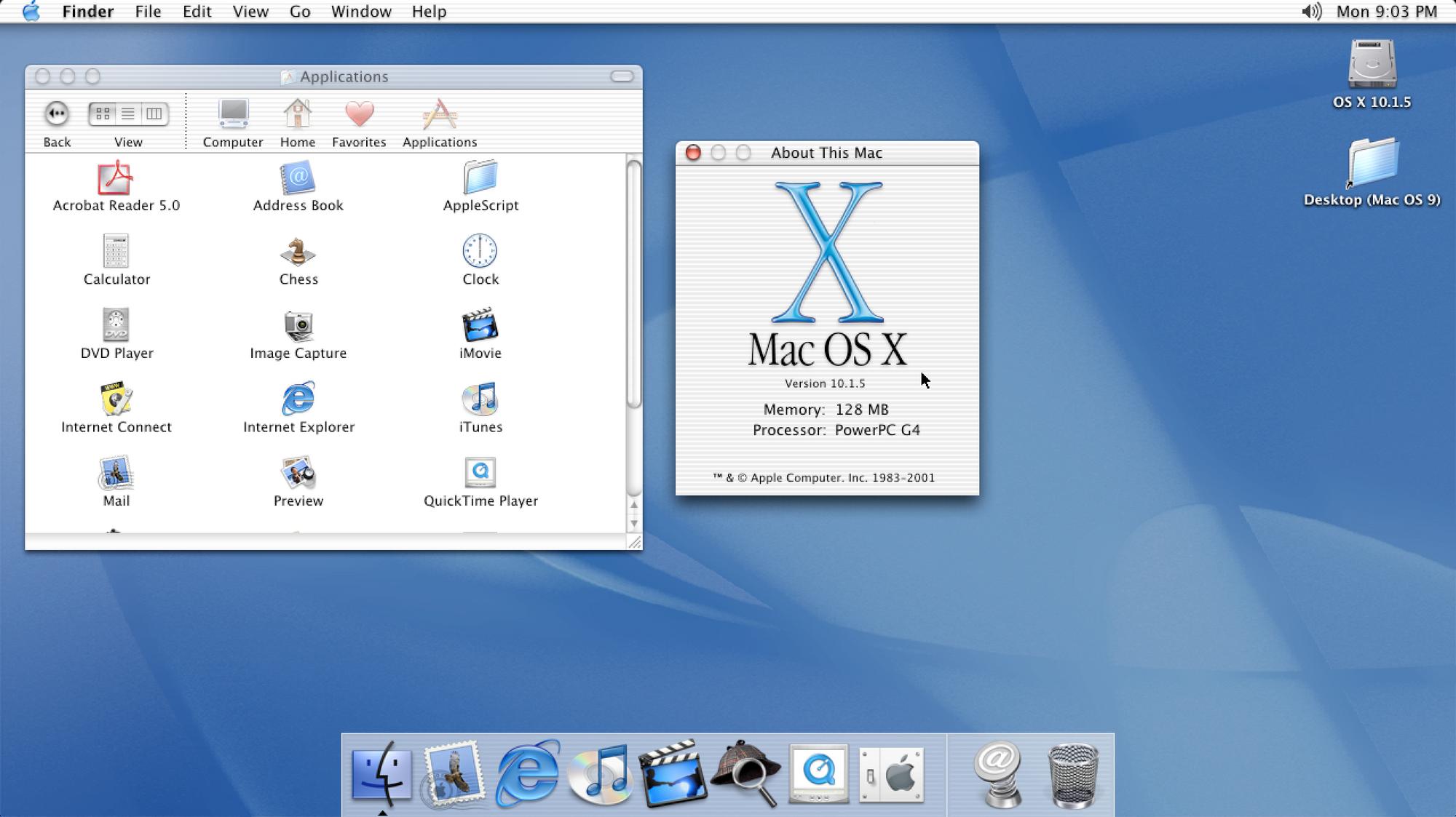 Mac OS X 10 1 | Apple Wiki | FANDOM powered by Wikia