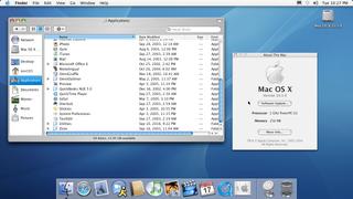 2003-5 Mac OS X 10.3.9 (Panther)
