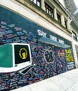 Apple Walnut Street boarded 2020-06-19 mural