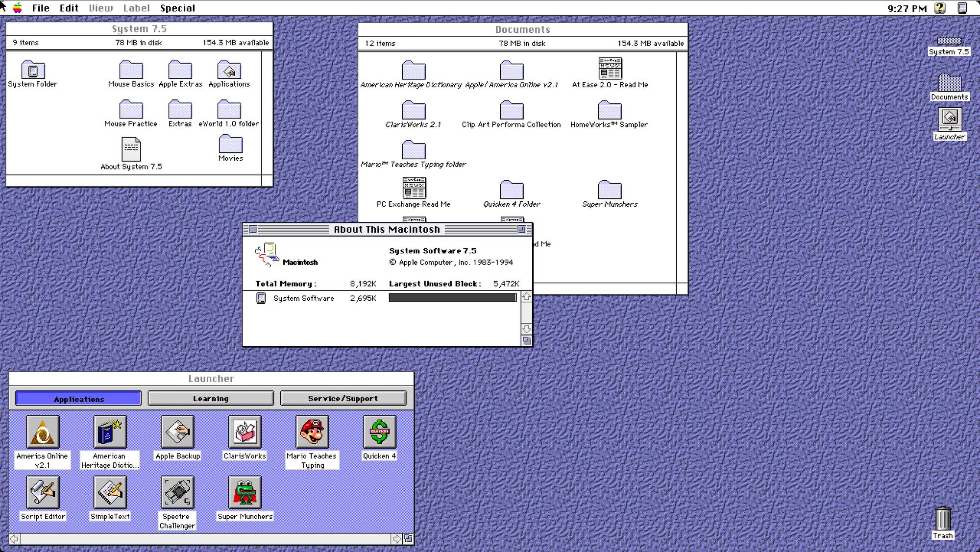 Mac Os 7
