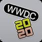WWDC 2020 logo icon