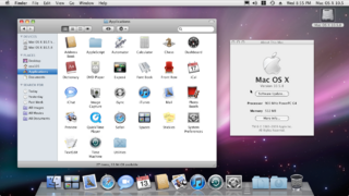 2007-9 Mac OS X 10.5.8 (Leopard) (PPC)