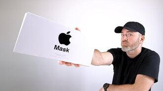 Unboxing the Apple Mask