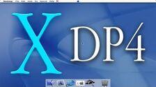 Mac OS X Developer Preview 4 Demo