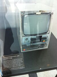 1981 Macintosh prototype at Computer History Museum