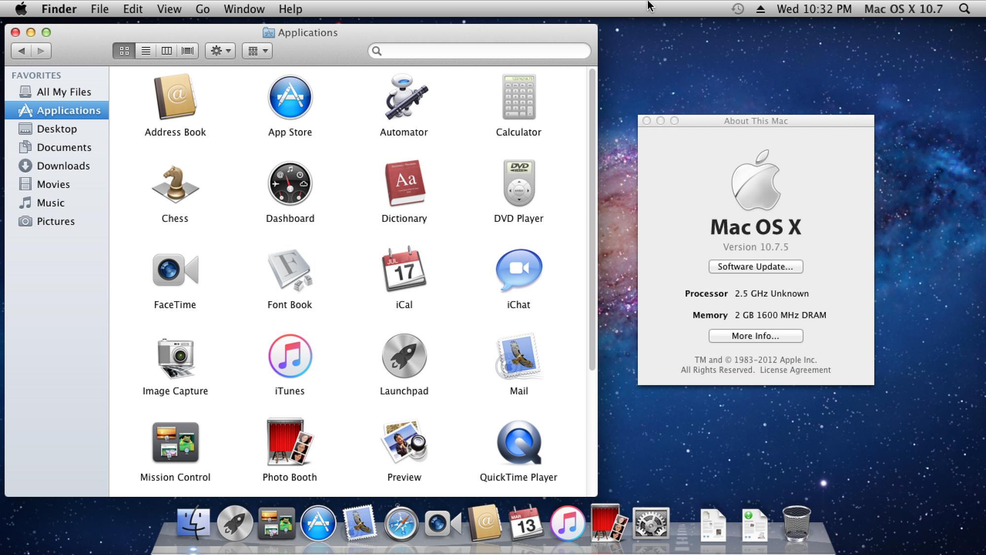 how to take a screenshot on mac os x 10.7.5