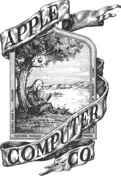 image old apple logo jpg apple wiki fandom powered by wikia