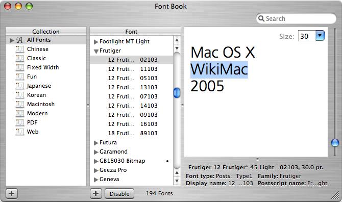 Font Book | Apple Wiki | FANDOM powered by Wikia