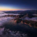 MacOS Big Sur landscape cloudy 6K
