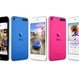 The 6th-Generation iPod Touch.