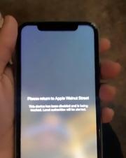 Stolen Apple Walnut Street iPhone tracked