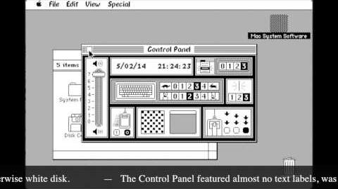 1984 - Macintosh System 1
