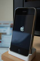Original iPhone docked
