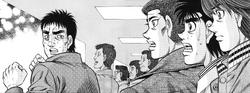 Kojima meeting Ippo first time