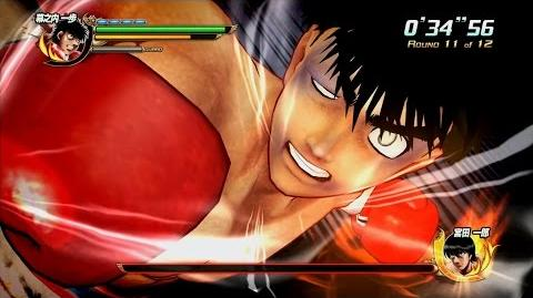 Hajime no Ippo for PS3 Japanese gameplay trailer