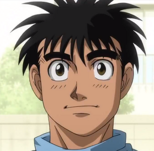 Does ippo become world champion