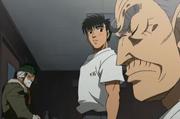 Dankichi visits Kamogawa and Ippo