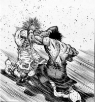 Takamura Blindly Counters Eagle