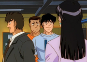 Fujii introducing Mari
